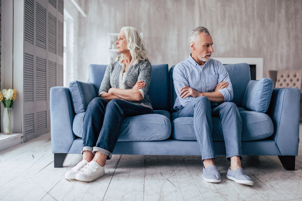 How Divorce After 50 is Different